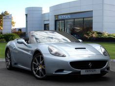 Used 2009 ( reg) Silver Ferrari California for sale on RAC Cars