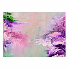 KESS InHouse Ebi Emporium 'Winter Dreamland 4' Pink Purple Dog Place Mat, 13' x 18' *** Check this awesome product by going to the link at the image. (This is an affiliate link and I receive a commission for the sales) #PetDogs