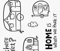 Happy Camper Clipart Black And White 1 Clipart Station Camper Clipart Clip Art Happy Campers