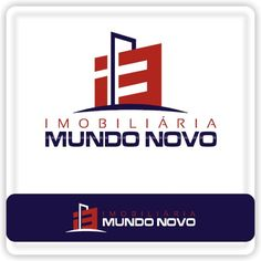 Arte campeã do projeto Imobiliária Mundo Novo #logovia #logodesign #logomarca