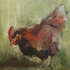 """""""Kitchen Chicken"""" by Sue Churchgrant"""