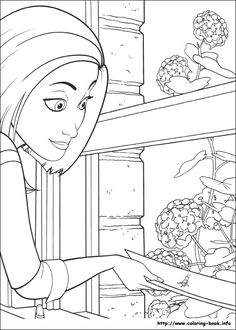 Bee Movie Coloring Page 13 Is A From BookLet Your Children Express Their Imagination When They Color The