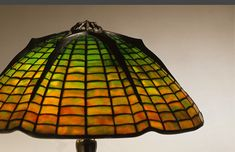The Neustadt Collection of Tiffany Glass Spider Lamp, Stained Glass Lamps, Tiffany Glass, Glass Design, Ribs, Enamel, Lighting, Inspiration, Image