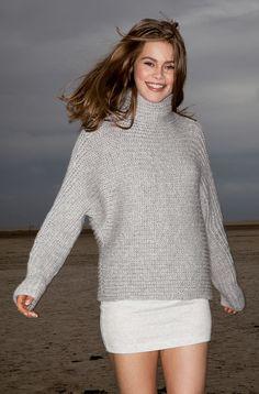 Lana Grossa PULLI Alta Moda Cashmere 16 - FILATI Handstrick No. 61 - Modell 21 | FILATI.cc WebShop