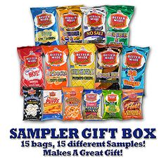 A Michigan Favorite!!!!   Better Made snacks - can't pick one favorite flavor