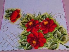 Minhas pinturas em tecido: