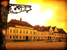 The completely intact medieval town centre of Bardejov in Slovakia. Photo by izarbeltza, Flickr