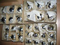 alter Christbaumschmuck Lauscha Kugeln 30 mit Hirschdesign Stück Set 8 in Sammeln & Seltenes, Saisonales & Feste, Weihnachten & Neujahr   eBay