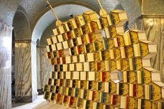 Book Hive: New Interactive Book Display in Bristol Central Library - My Modern Metropolis