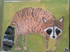 raccoon by oswald flump, via Flickr