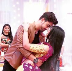 ❤ Cute Love Couple, Best Couple, Beautiful Couple, Smile Pictures, Cute Pictures, Indian Bridal Sarees, Girly Attitude Quotes, Zain Imam, Tv Actors