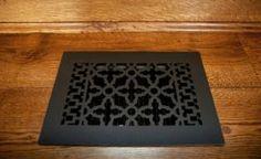 Cast iron grille