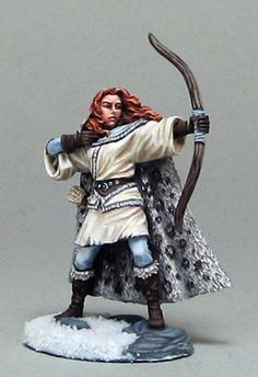 Wilding Spearwife with bow - George R.R. Martin Masterworks - Miniature Lines