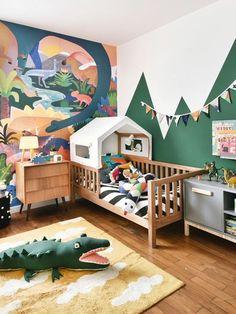 Id 233 E D 233 Co Chambre Enfant Une Chambre Jungle Blog Maman
