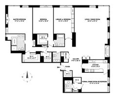 4-bedroom-apt-floorplan-museum-tower-nyc.jpg (628×538)