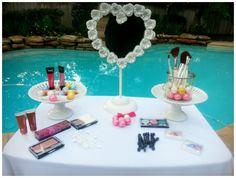 Spa Themed Birthday Party #SpaParty #GirlsBirthdayParties