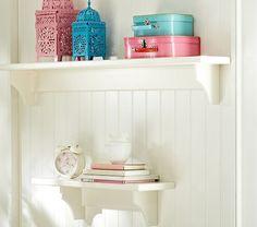 Hayden Simply White Shelves | Pottery Barn Kids