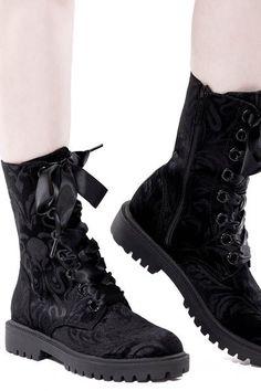 Cthulhu Combat Boots