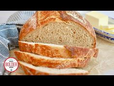 This no-knead Whole Wheat Bread Recipe is perfect for beginners. Follow my step-by-step instructions to make this crusty artisanal bread!