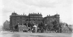 Norra Bantorget år 1899 Stockholm Sweden, City, History, Sweden, Photo Illustration, Cities