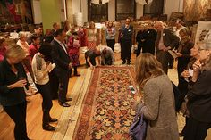 Collecting Antique Rugs  Our First Seminar About Antique Carpets Was A Huge Success!! Read All About It!  http://nazmiyalantiquerugs.com/blog/2013/10/first-antique-carpets-seminar/