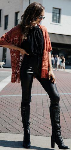 Rust Lace + Black                                                                             Source