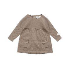 Beige Kjole, Heavy knit, Long, , : , Newbie,...