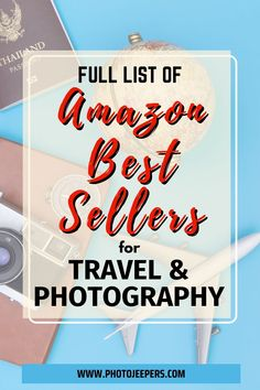 Amazon Best Seller pages are awesome. They are dynamically changed each hour by Amazon so the lists are always up-to-date. We've made it easy for you to show the Amazon best sellers lists: Amazon devices | Camera and photography gear | Hiking and outdoor gear | Luggage and travel accessories. #amazon #bestseller #travelgear #cameragear #photojeepers Best Items On Amazon, Find Amazon, Packing Tips For Travel, Travel List, Travel Items, Photography Gear, Photo Tips, Travel Accessories, Trip Planning