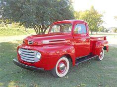 1950 Ford F-1 Pickup Vintage Pickup Trucks, Old Pickup, Antique Trucks, New Trucks, Cool Trucks, Vintage Cars, Cool Cars, Antique Cars, Lifted Trucks