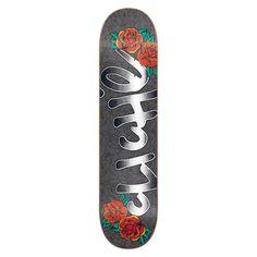 "Cliche Skateboard Deck - Handwritten Tattoo Multi 8.375"""