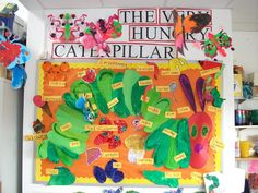 The Very Hungry Caterpillar bulletin board!
