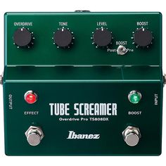 Ibanez Overdrive Pro Tube Screamer/Booster Guitar Effect Pedal Guitar Effects Pedals, Guitar Pedals, Guitar Rig, Acoustic Guitar, Bass Guitars, Boost Pedal, 9 Volt Battery, Just Engaged, Guitar Accessories