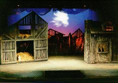 scrim barn inspiration: Fiddler on the Roof set design Stage Set Design, Set Design Theatre, Alvin Ailey, Royal Ballet, Dark Fantasy Art, Body Painting, Theater, Fiddler On The Roof, Church Stage