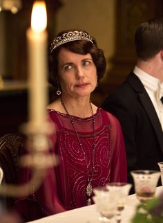 Elizabeth McGovern as Cora Crawley, Countess of Grantham in Downton Abbey (TV Series, 2013).