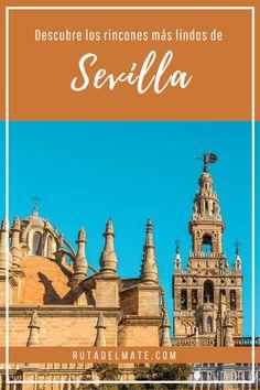 Descubre los lugares imprescindibles que tienes que ver en Sevilla, un sitio donde la cultura andaluza se refleja por las calles a flor de piel. #españa #viajar #turismo #andalucia Taj Mahal, Building, Movies, Movie Posters, Travel, Flower, Family Destinations, Sevilla Spain, European Travel