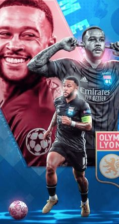 Mode Cyberpunk, Memphis Depay, Sports Graphic Design, Football Players, Flyers, Art Direction, Soccer, Posters, Graphics