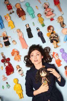 Why collect dolls? I grew out of stamps, says Sophie Ellis-Bextor Sophie Ellis Bextor, Amanda Lepore, Square Faces, Old Dolls, Grow Out, Collector Dolls, Vintage Dolls, Antique Dolls, Blythe Dolls
