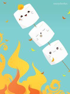 Rosey Cheekes Cute Posters