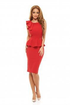 Rochie Fofy Daily Glamour Red