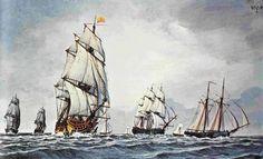 American Revolution Ships | REVOLUTIONARY WAR: FORGOTTEN NAVAL BATTLES