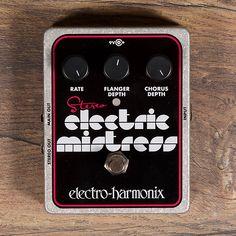 Electro-Harmonix Stereo Electric Mistress Flanger/Chorus Pedal