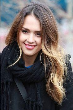 I want her hair! Jessica Alba
