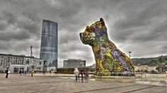 Torre de Iberdrola y Puppi junto en Bilbao Bilbao, Louvre, Building, Travel, Towers, Cities, Historia, Viajes, Buildings