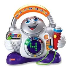 Fisher-Price Fun-2-Learn Learning DJ « Delay Gifts