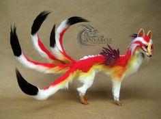 Ayumu the Dragon Kitsune Room Guardian by AnyaBoz on DeviantArt