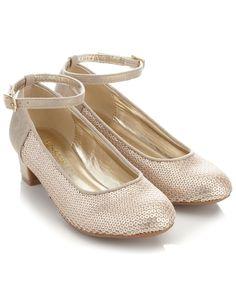 Matte Sequin Cha Wedding ShoesWedding