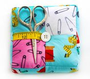 Pin Cushion Square- Patch with Scissors at Joann's