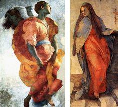 Pontormo The Annunciation