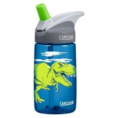 CamelBak Eddy Kids Water Bottle - Blue (0.4L)
