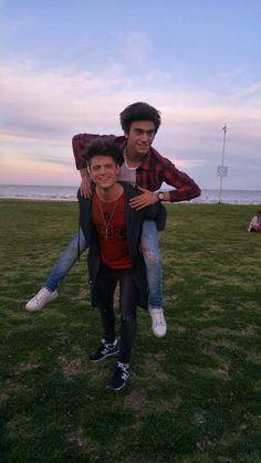 Lionel & Agustin >_<